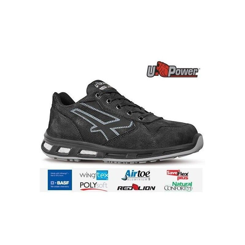 https://www.ropadetrabajo.com: Zapato de seguridad U-POWER Carbón