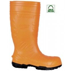 https://www.ropadetrabajo.com: Bota de agua Cofra SAFEST ORANGE